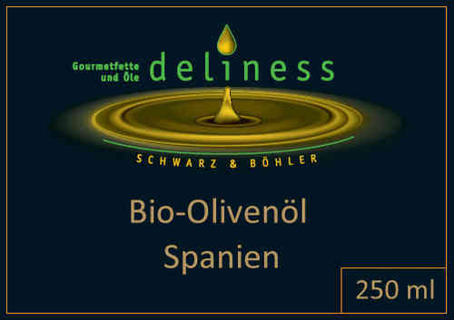 Bio-Olivenöl, 1.Press. span. 250 ml
